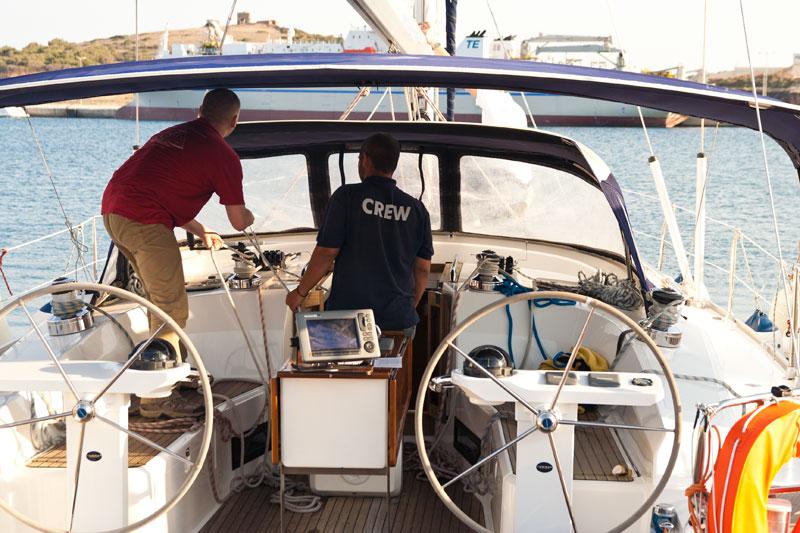 Przejmowanie jachtu