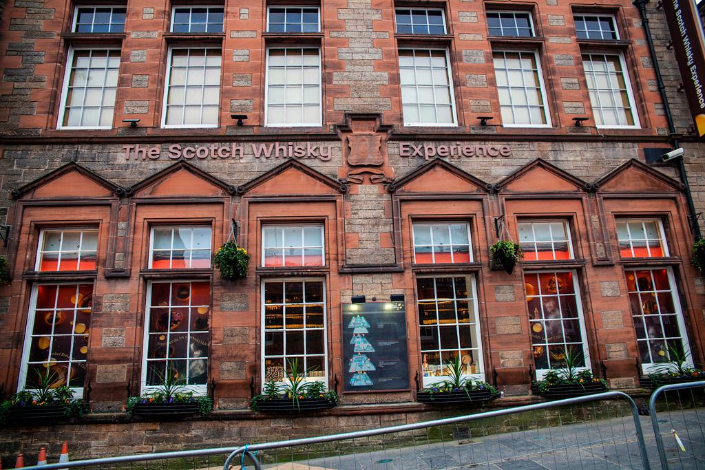Co zobaczyć w Edynburgu - The Scotch Whisky Experience