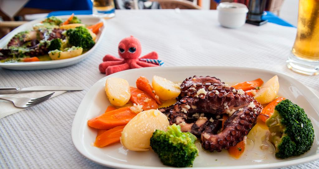 Obiad w Casa do Polvo