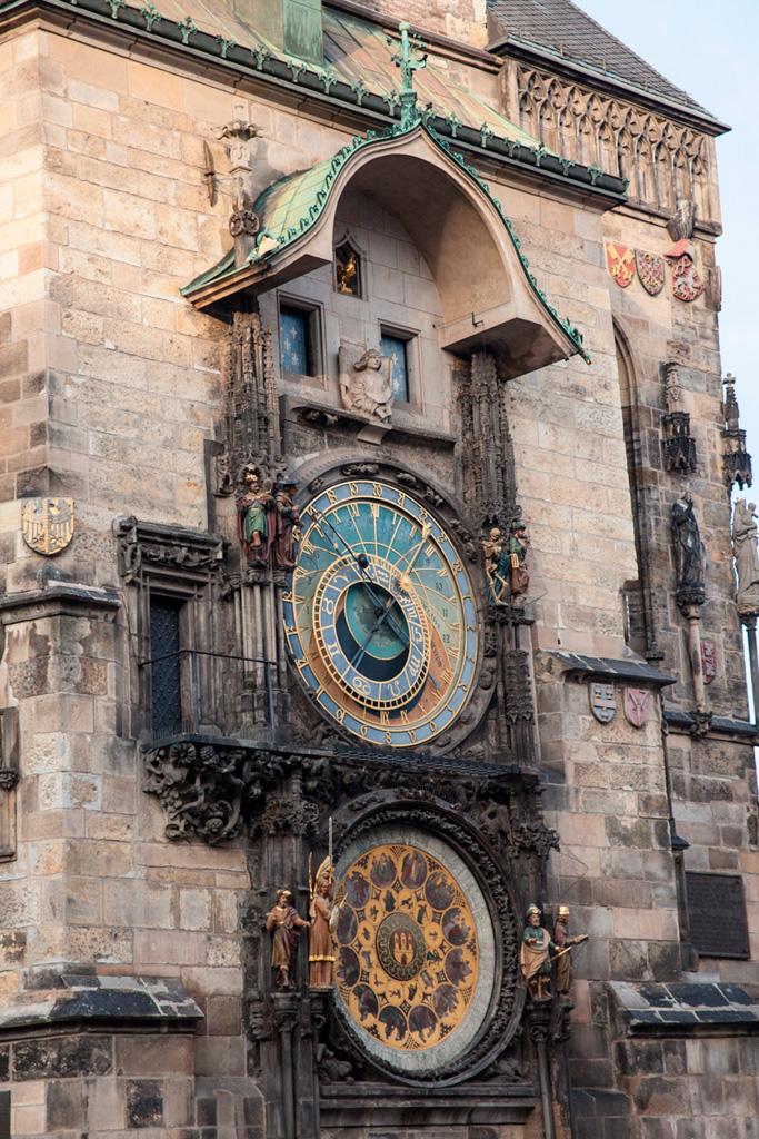 Zegar Orloj na Ratuszu