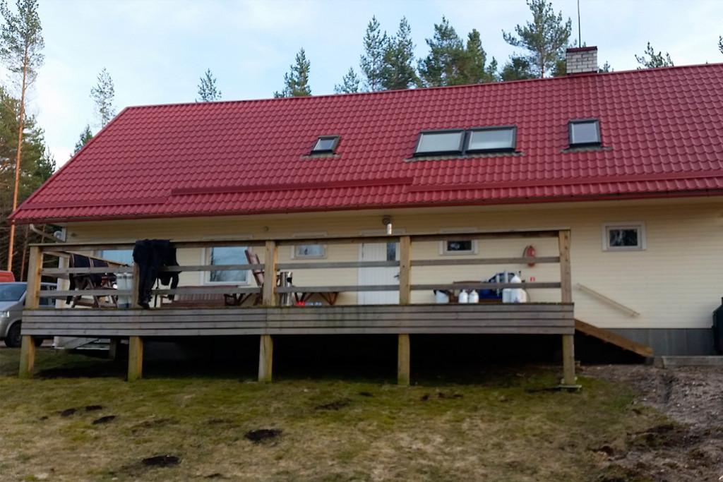 Nasza chata. Foto: Pitek