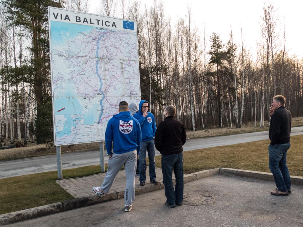 Gdzieśna via Baltica