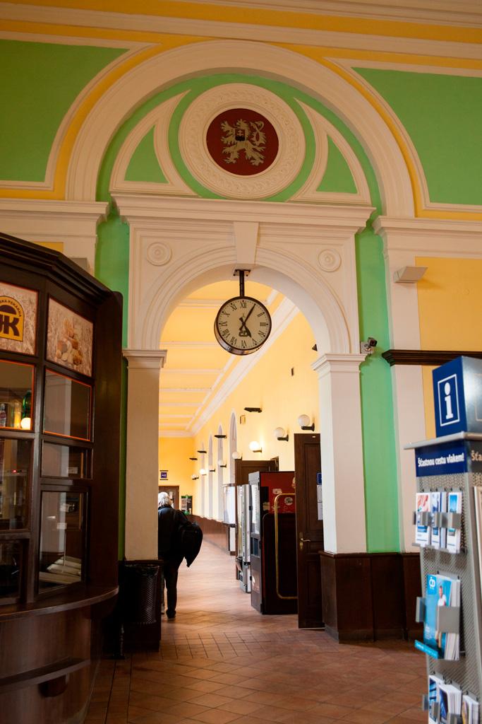 Dworzec kolejowy w Czeskim Cieszynie