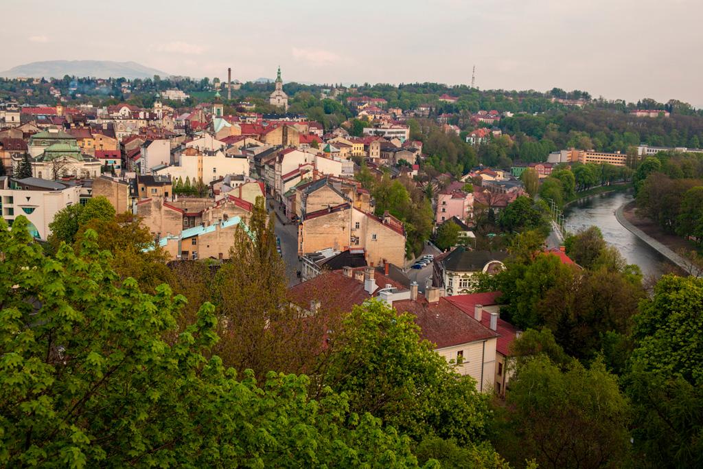 Widok z Wieży Piastowskiej