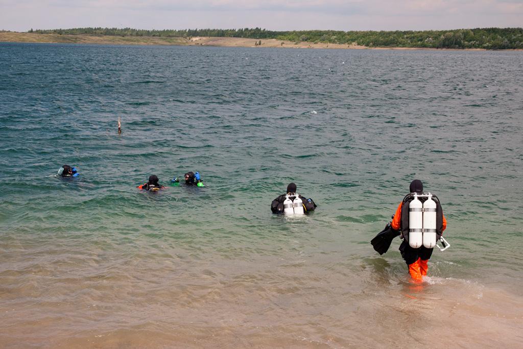Nurkowanie z GEPN - dla odmiany w przejrzystej wodzie ;)