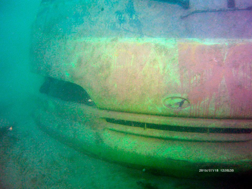 Hyundai podwodny, foto: Nurkersi