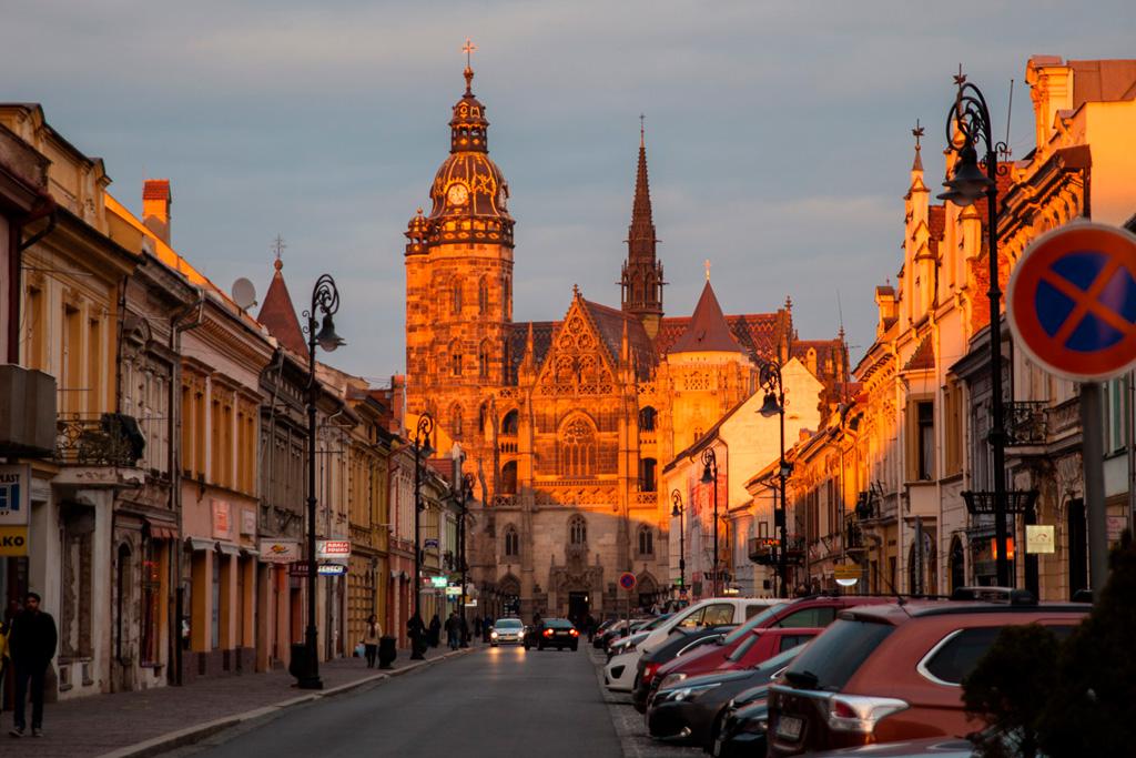 Koszyce - Katedra św. Elżbiety