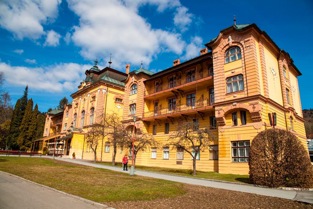 Bardejowskie Kupele - hotel Astoria