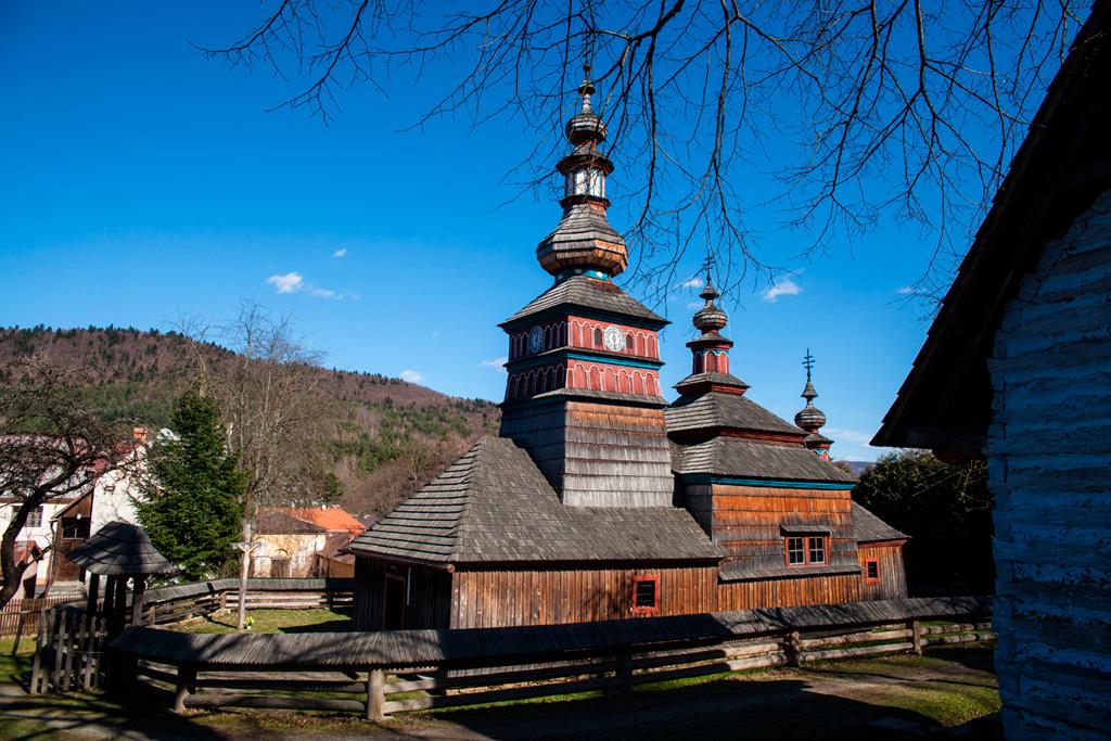 Bardejowskie Kupele - cerkiew w skansenie