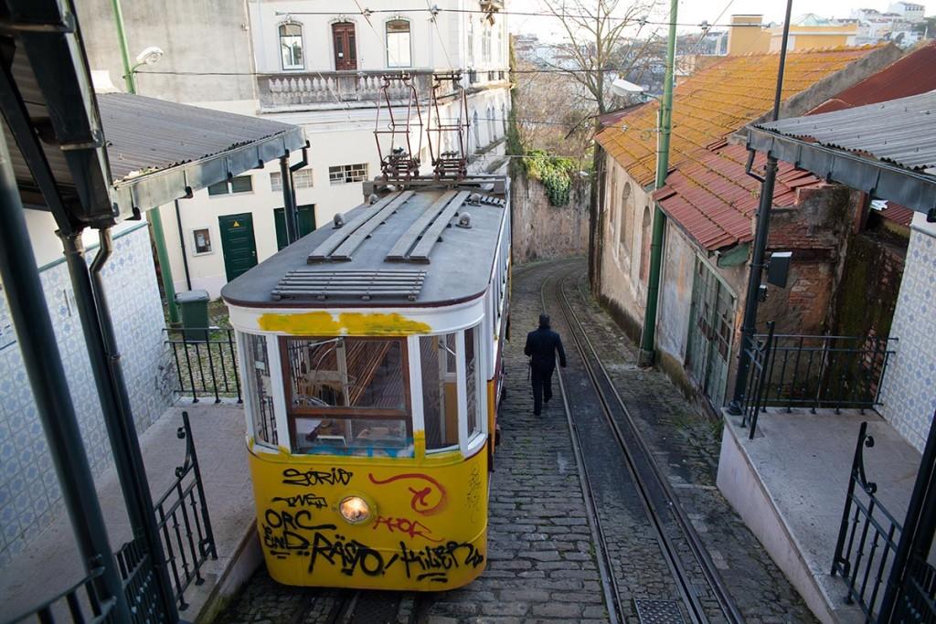 Gorna stacja Elevador do Lavra