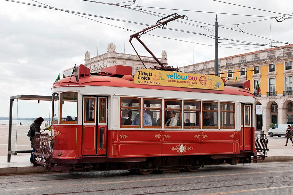 Lizbona tramwaje także turystyczne