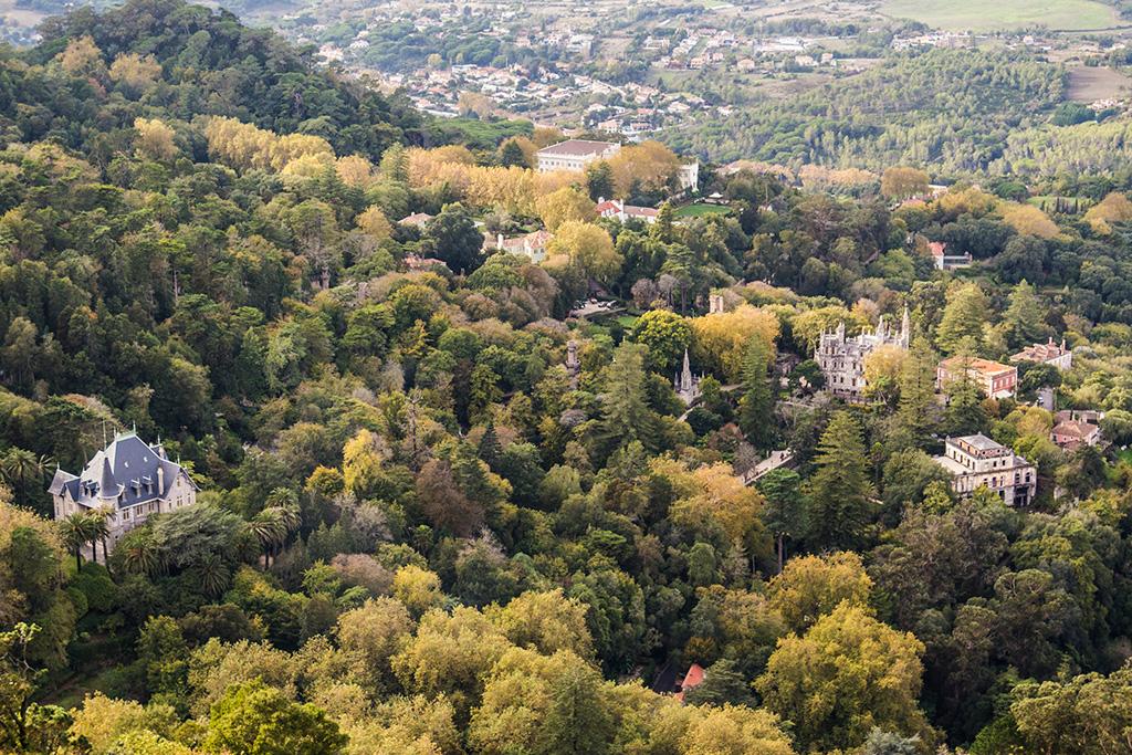 Pałace w Sintrze - rezydencje wśród zieleni