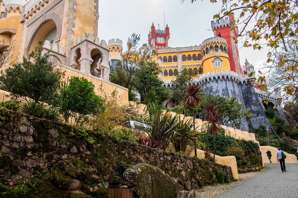 Pałac Pena - szaleństwo kolorów