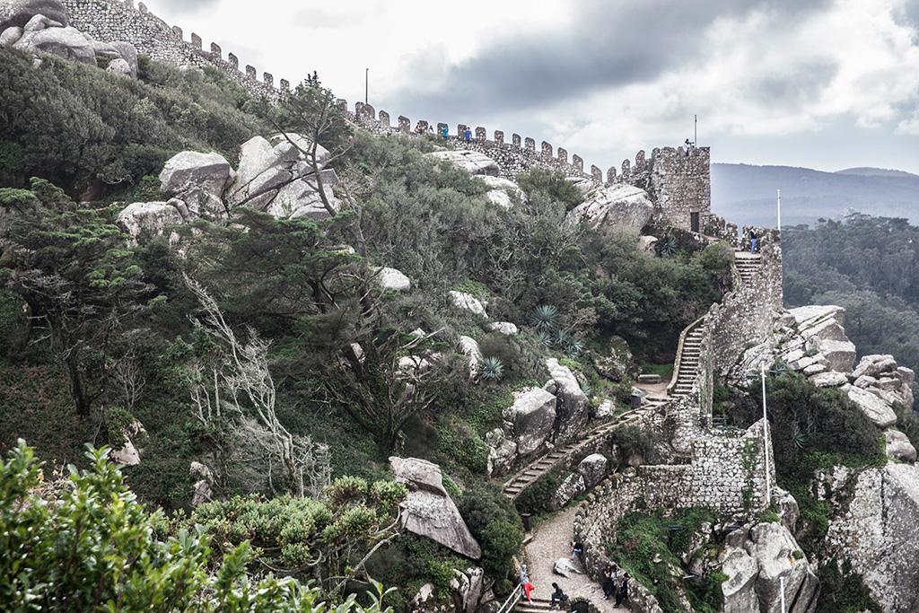 Sintra, Zamek Maurów