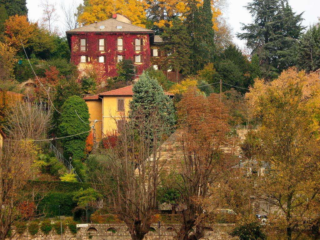 Górne Miasto jesienią