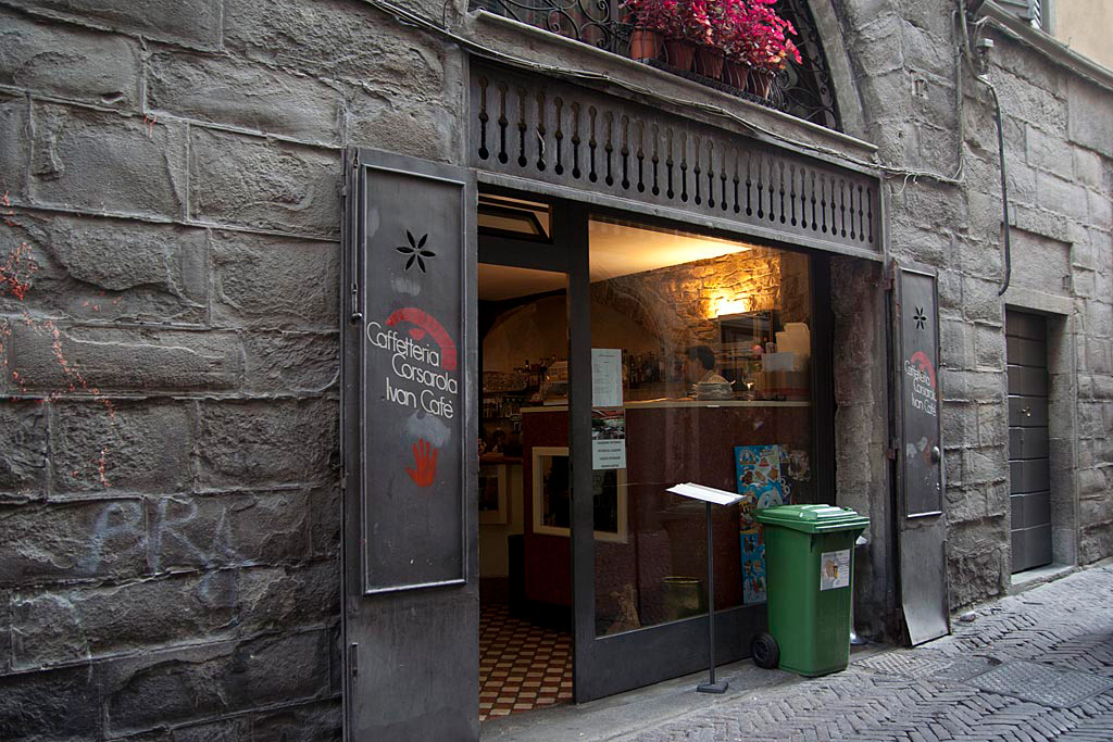 Lokal, w którym piliśmy kawę