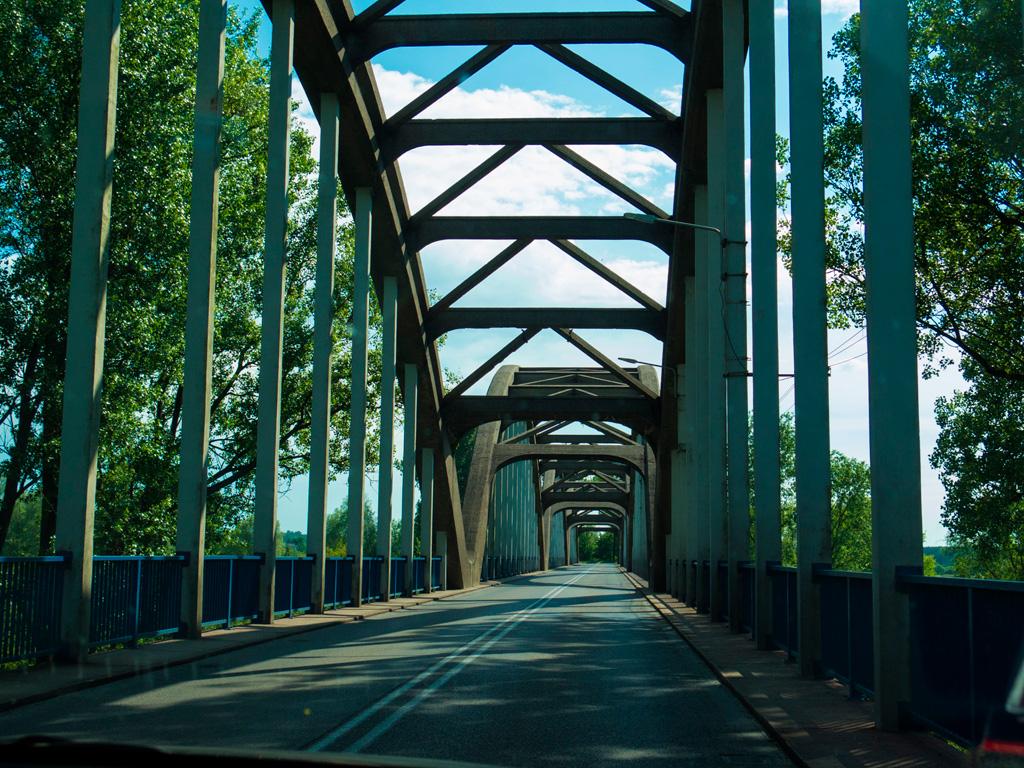 Most nad Pilicą do Białobrzegów