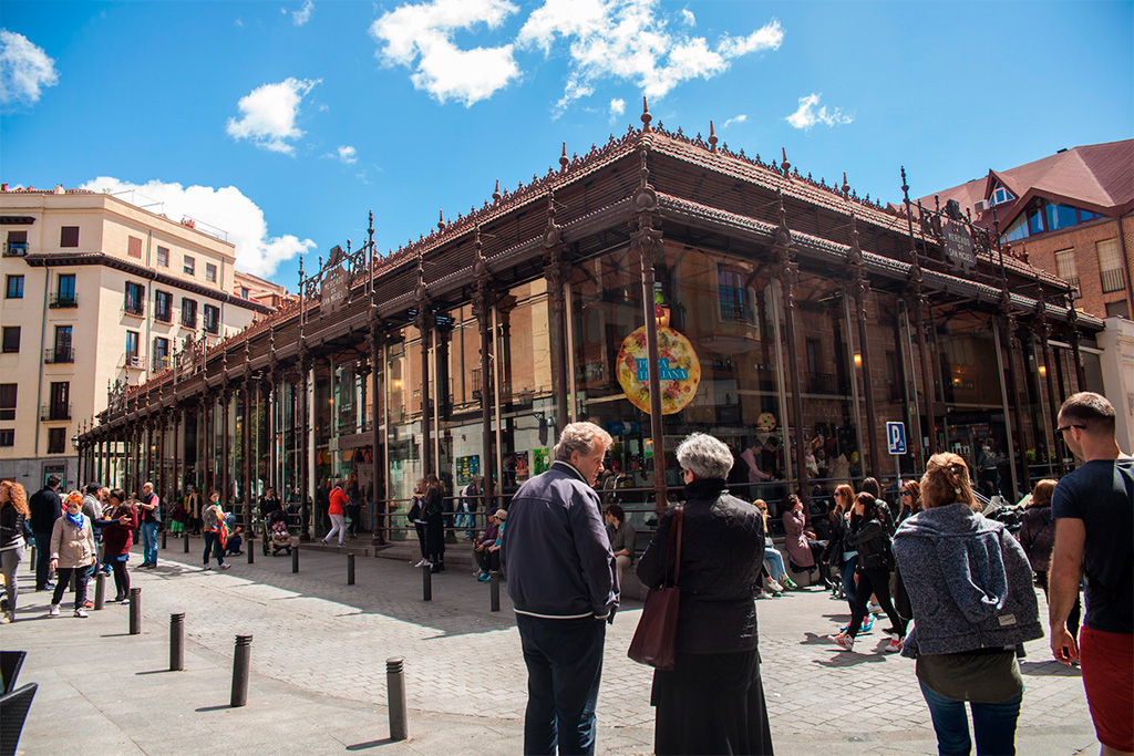 Mercado de San Miguel, Madryt