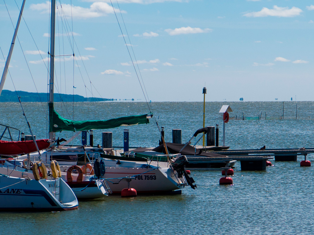 Port rybacki w Krynicy Morskiej