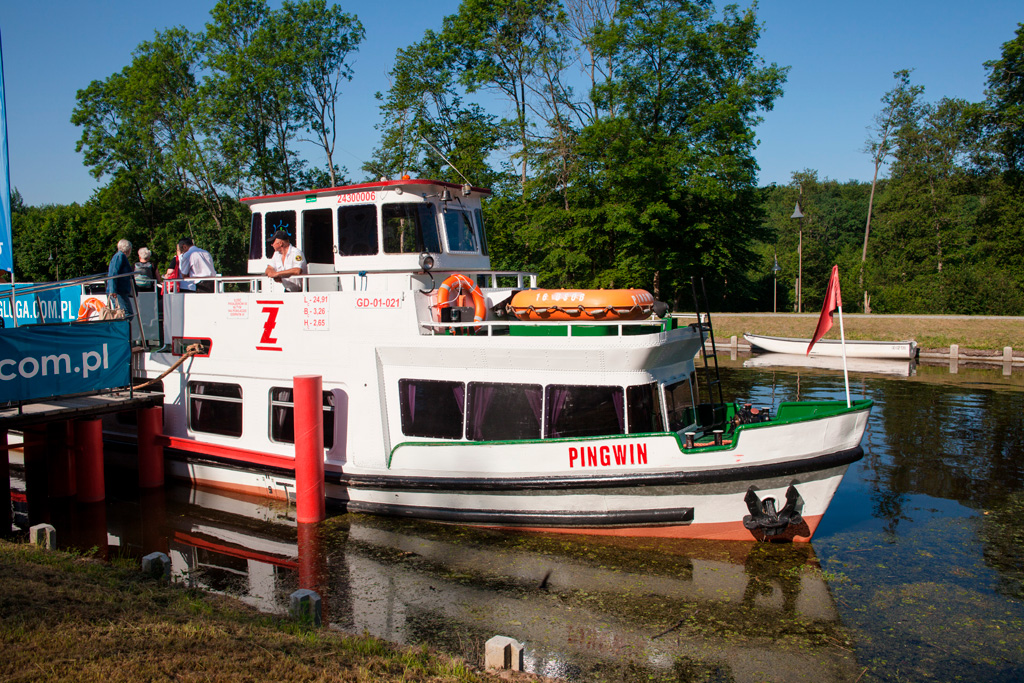 Statek Żeglugi Ostródzko-Elbląskiej PINGWIN