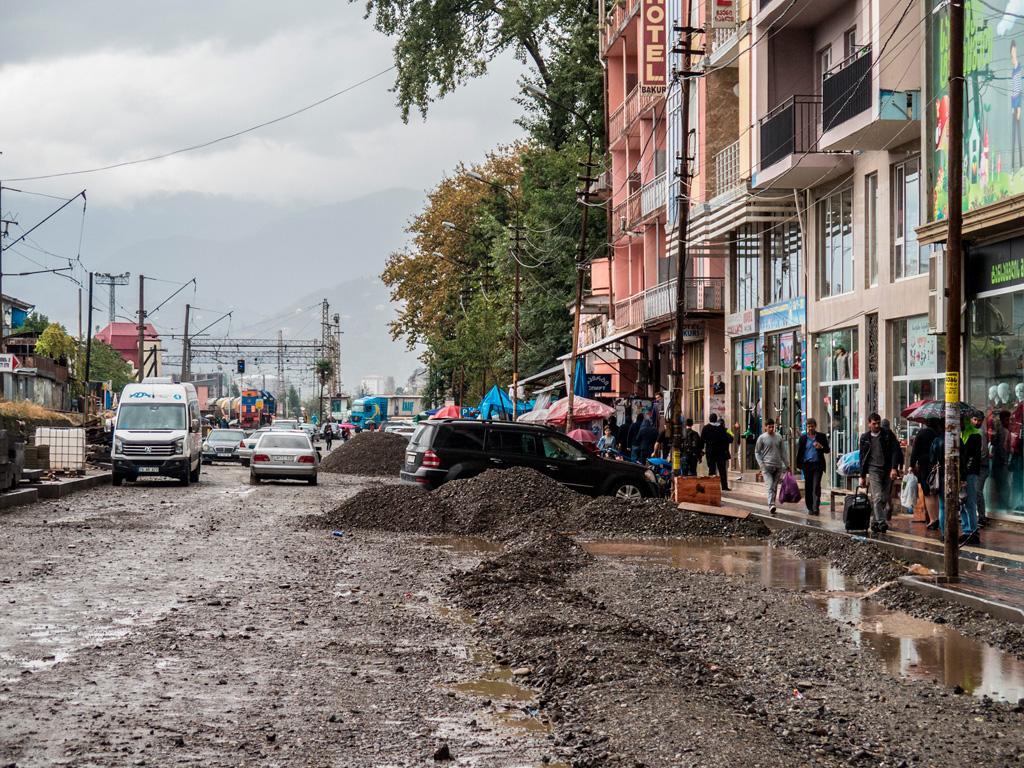 Batumi, przecznicę od centrum