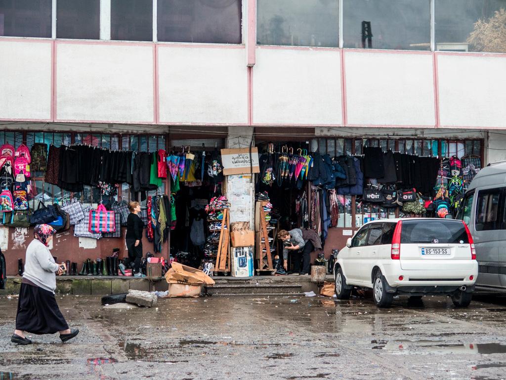 Batumi, ulicę od centrum