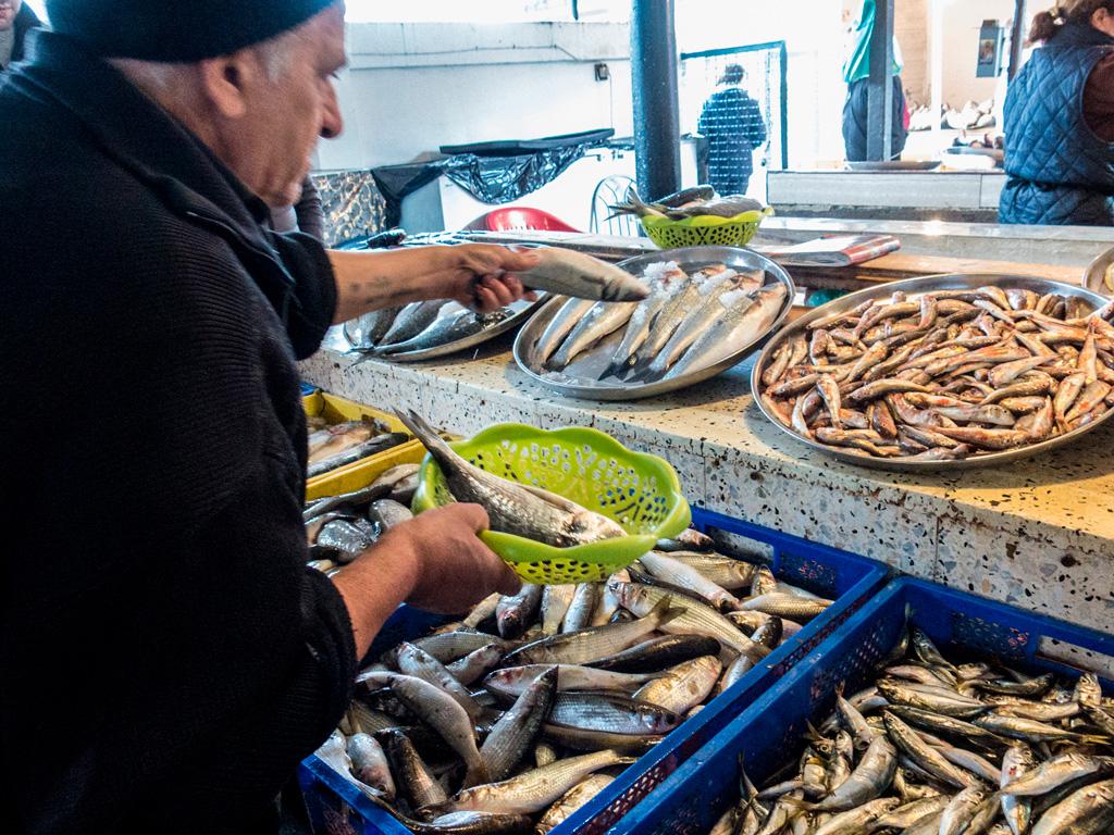 Fish Market w Batumi
