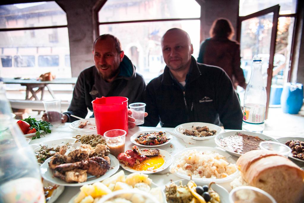 Wilczy i kolega z Czech, który czuje się Ślązakiem