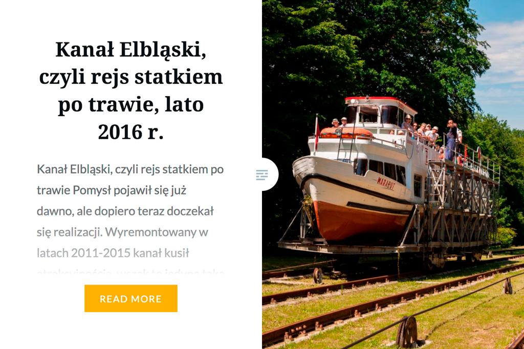 psyche&Wilczy polecają Kanał Elbląski