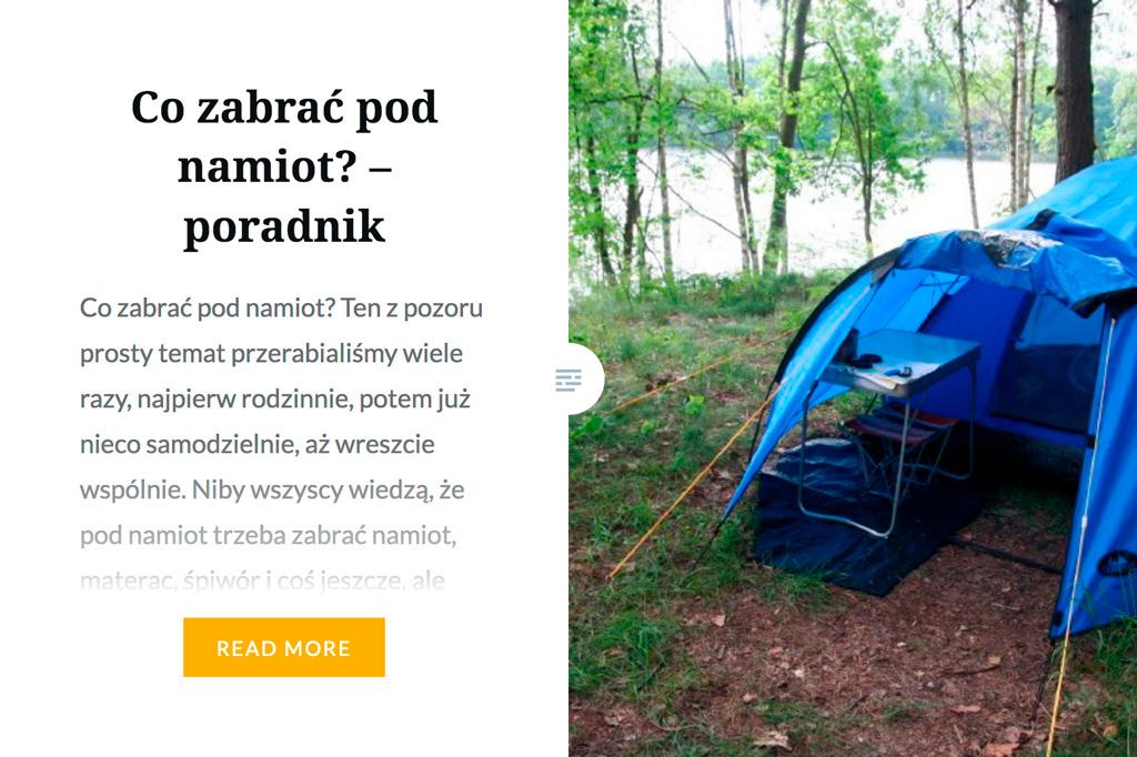 psyche&Wilczy polecają... wyjazdy pod namiot :)