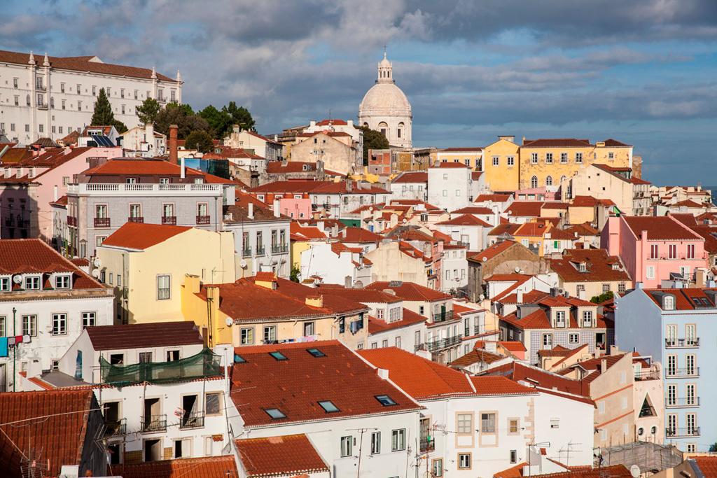 Jesień w Lizbonie - pogoda jak u nas latem :)