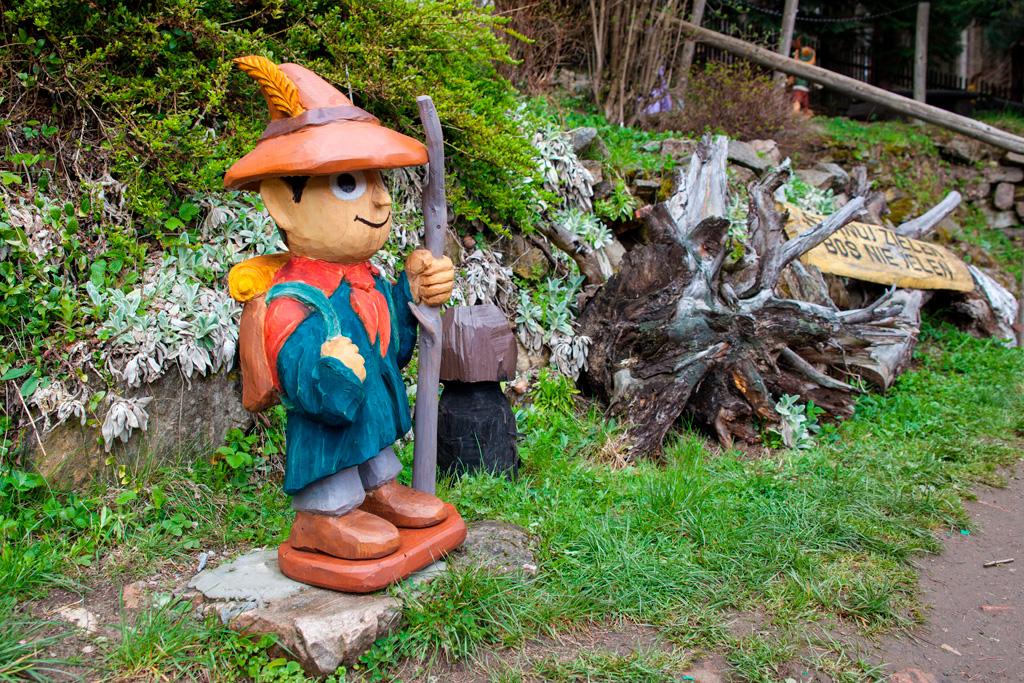 Ogród Bajek - Włóczykij