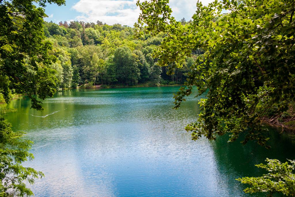 Jezioro Szmaragdowe – widok z mostku