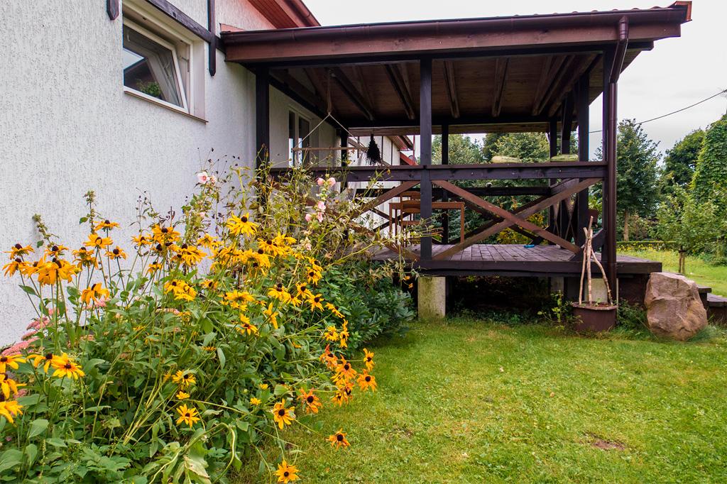Dylewianka od strony ogrodu