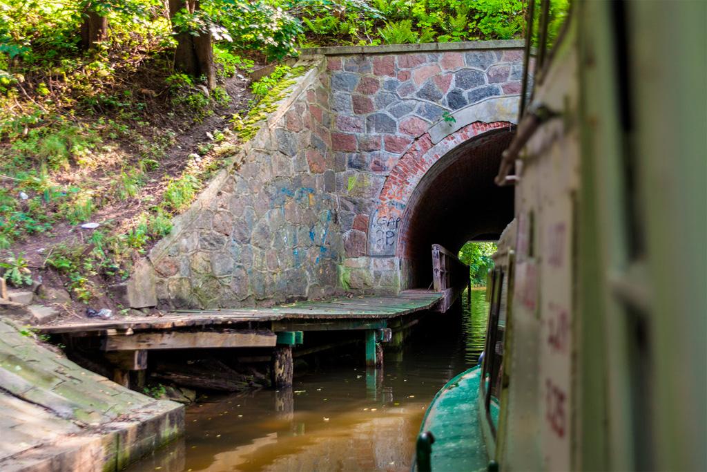 Tunel pod szosą