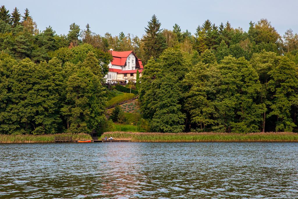 Szlak Szeląga kończy się na jeziorze Szeląg Mały