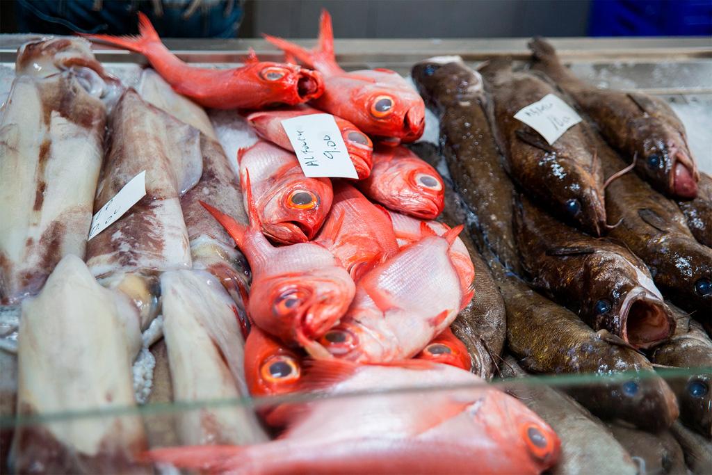 Azory, dobre jedzenie: świeże ryby