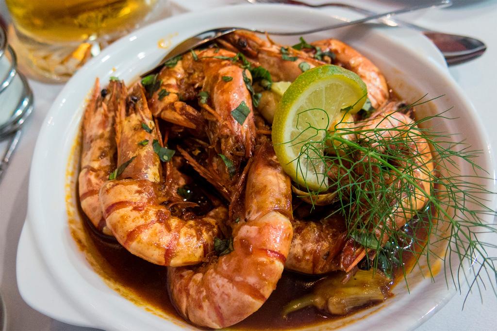 Azory kulinarnie - owoce morza