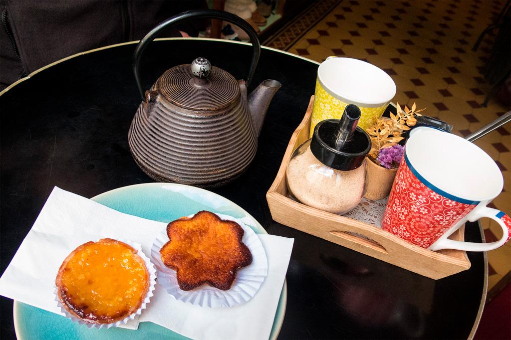 Azory, smaczne jedzenie: lokalne ciastka