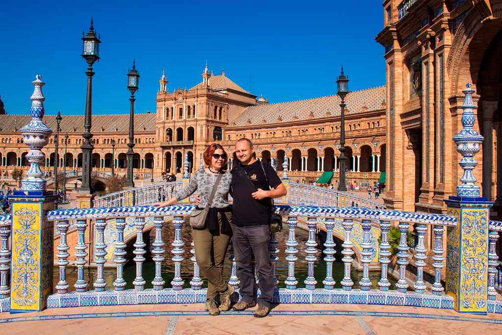 Hiszpański przed podróżą - my uśmiechnięci :)