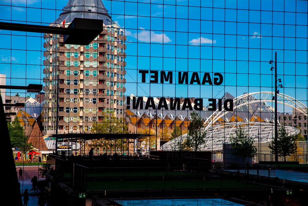 Rotterdam to niebanalna architektura
