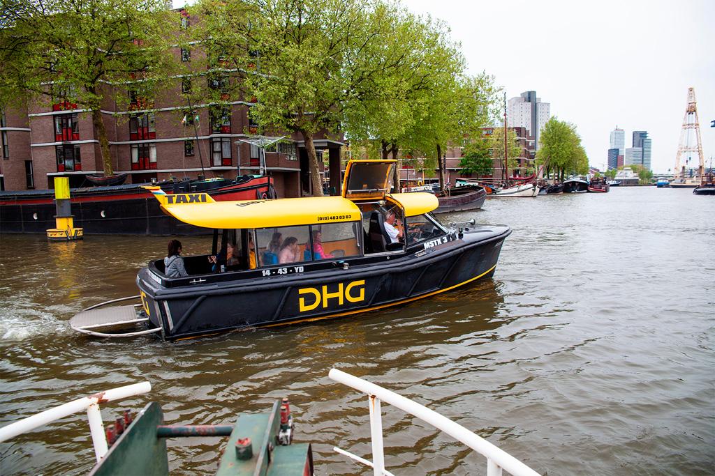 Rotterdam przecinają liczne kanały