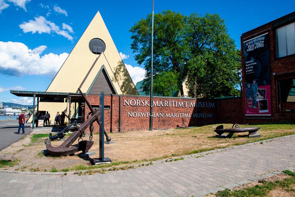 Oslo - dwa muzea tuż obok siebie