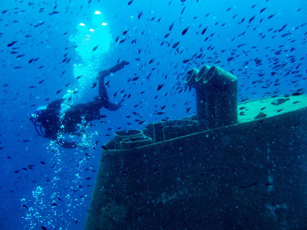 Nurkowanie na Malcie nie może się obyć bez odwiedzin tego wraku