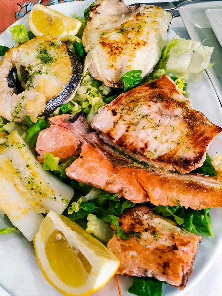Dobre ryby w Walencji