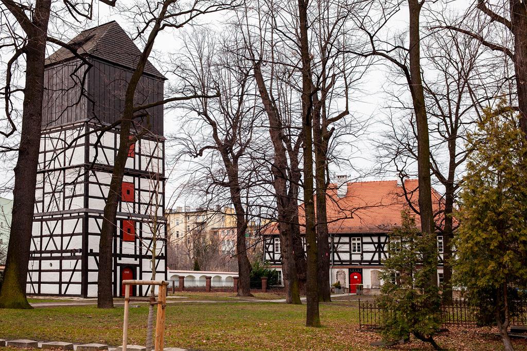 KościółPokoju w Świdnicy stanowi kameralną enklawę w środku miasta