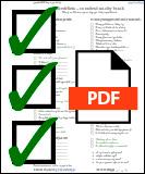 Pobierz PDF z listą co zabrać na camino