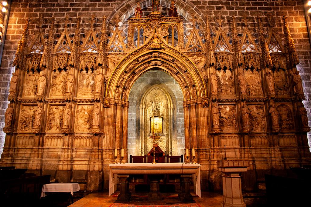 Kaplica Santo Cáliz, czyli świętego kielicha