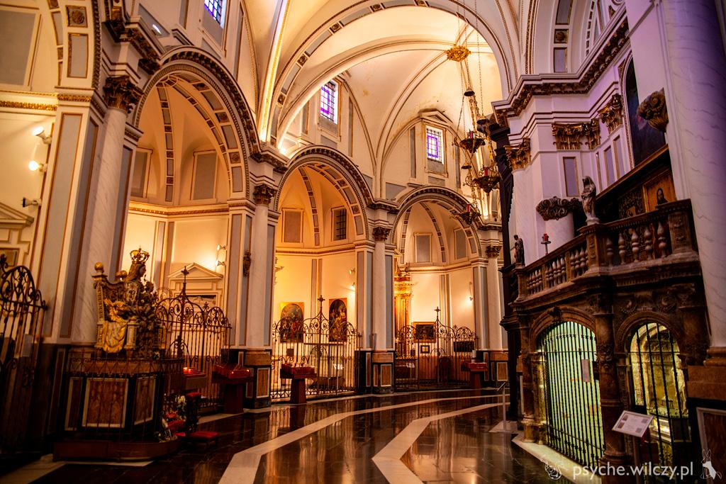 Fragment wnętrz katedry