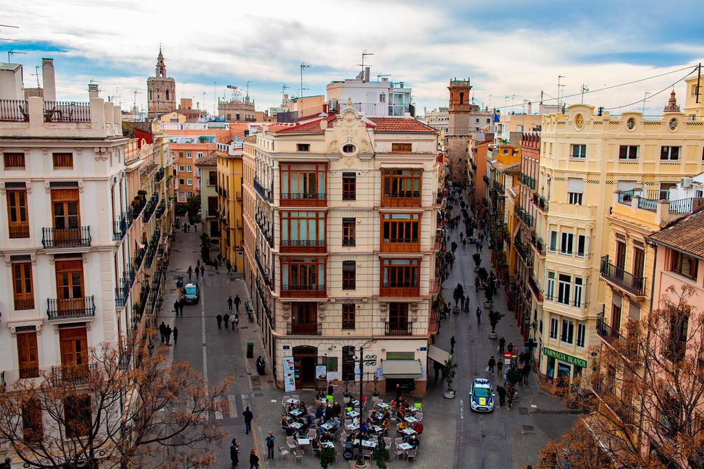 Widok na stare miasto